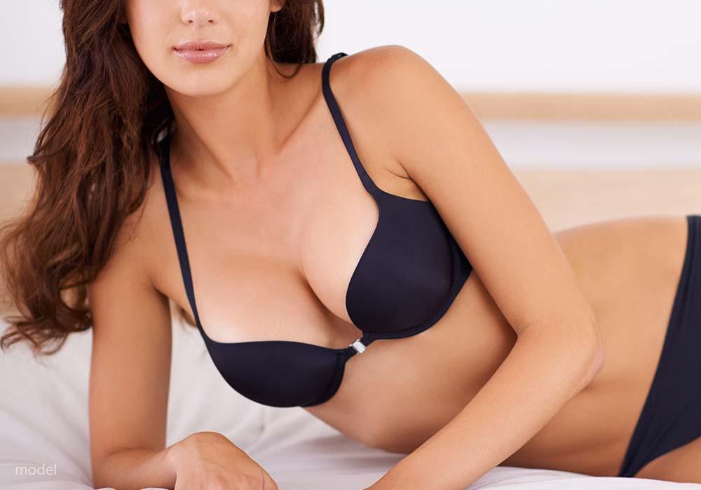 Model of a woman's body